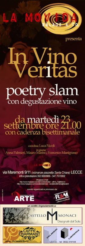 In Vino Veritas. Poetry Slam.