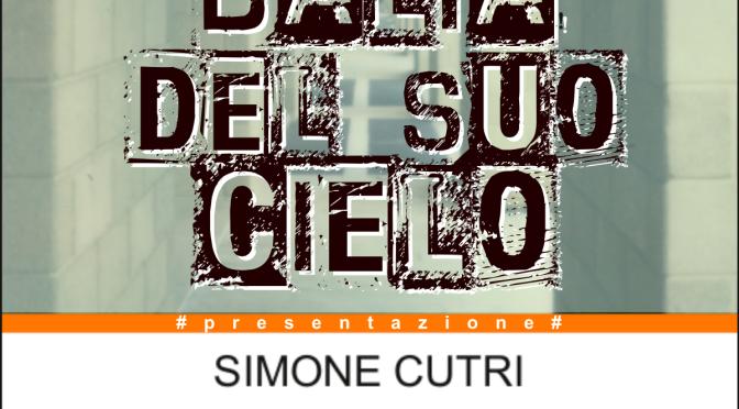 """24 Luglio 2014, Torino – Simone Cutri presenta """"E nessuno viene a prendermi"""" al Caffè Damiani"""