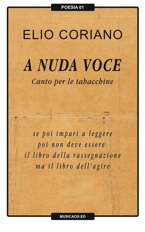 """17 Gennaio 2015 – Taranto/Biblioteca Popolare – """"A nuda voce. Canto per le tabacchine"""" di Elio Coriano, con Elio Coriano, Stella Grande, Vito Aluisi"""