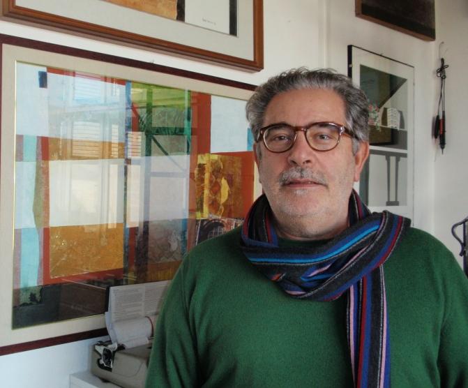 """4 Febbraio 2015 – Sannicola (LE) – Francesco Pasca presenta """"[L]-ISA. Appunti per viaggio. Con il viandante e i suoi colori"""" presso la 'Locanda dei viandanti'"""