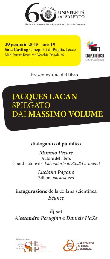 29gennaio2015-manifattureknos-mimmopesare-locandina