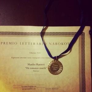 ManlioRanieri-Unromanzoinutile-premionabokov2014-menzionespeciale