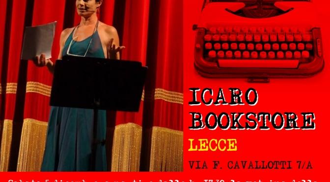 """5 Dicembre 2015 – Lecce – """"Scritti in vetrina"""", con Elisabetta Liguori – Icaro Bookstore"""
