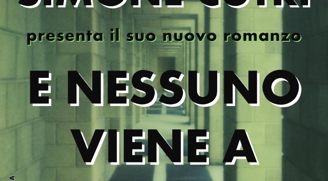 """14 Aprile 2016 – TORINO – Simone Cutri ospite del Caffè Damiani con la ristampa del suo romanzo """"E nessuno viene a prendermi"""""""
