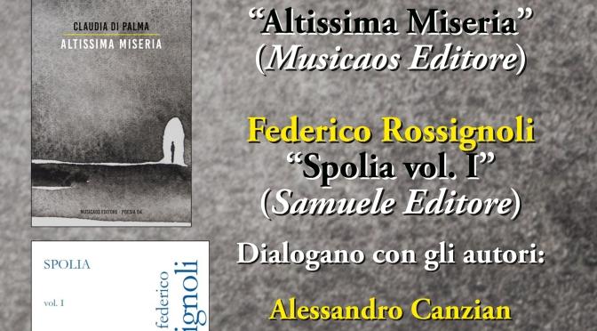 29 Novembre 2016 – Lecce – Fondoverri – Incontro di poesia con Claudia Di Palma e Federico Rossignoli