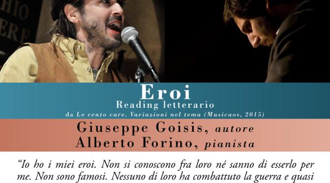 """Domenica 22 aprile 2018 – Bergamo – Gli """"Eroi"""" di Giuseppe Goisis con Alberto Forino, ospiti della 59sima """"Fiera dei librai"""""""