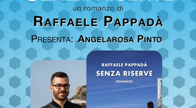 """Giovedì 17 maggio 2018 – Parma – Raffaele Pappadà presenta """"Senza riserve"""" al """"Colazione d'autore"""""""