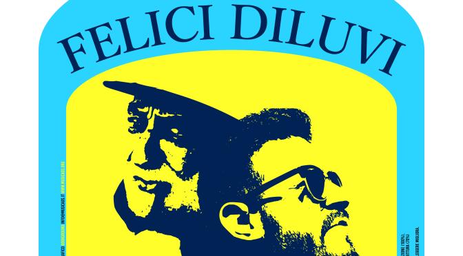 """Sabato 11 agosto 2018 – Porto Cesareo – Presentazione di """"Felici diluvi"""" con Graziano Gala, Pasquale Santoro, Marco Garofalo"""
